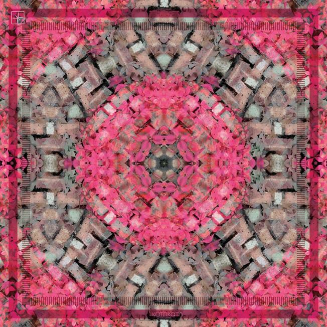 Pink Petal Luxury Square Scarf