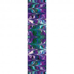 Purple Marble Luxury Long Scarf