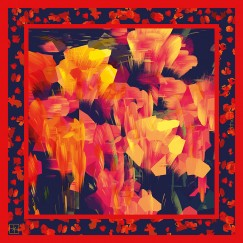 Red Tulip Luxury Square Scarf_90x90_web