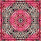 Pink Petal Luxury Square Scarf